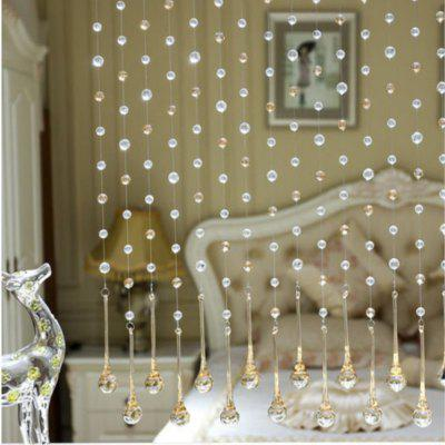 32 Cut Pearl Living Room Partition Porch Crystal Beads CurtainWindow Treatments<br>32 Cut Pearl Living Room Partition Porch Crystal Beads Curtain<br><br>Crafts: Half Machine Assembled<br>Curtain Pattern: Novelty<br>Curtain Style: Simple Style<br>Curtain Type: Door Panel Curtains Drapes<br>Package Contents: 1 x Beads Curtain<br>Package size (L x W x H): 5.00 x 5.00 x 5.00 cm / 1.97 x 1.97 x 1.97 inches<br>Package weight: 0.0800 kg<br>Product size (L x W x H): 1.50 x 1.50 x 100.00 cm / 0.59 x 0.59 x 39.37 inches<br>Product weight: 0.0800 kg<br>Top Construction: Pencil Pleated<br>Type: Curtain