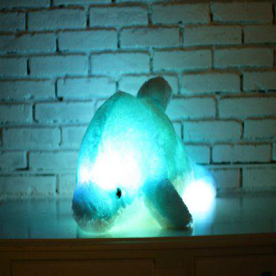 Glowing Dolphin Plush Toy Inductive Luminous with LED Lights Doll for KidsStuffed Cartoon Toys<br>Glowing Dolphin Plush Toy Inductive Luminous with LED Lights Doll for Kids<br><br>Features: Stuffed and Plush, Battery Operated, Soft<br>Materials: Plush, PP Cotton<br>Package Contents: 1 x Toy<br>Package size: 50.00 x 40.00 x 40.00 cm / 19.69 x 15.75 x 15.75 inches<br>Package weight: 0.3000 kg<br>Product size: 45.00 x 35.00 x 35.00 cm / 17.72 x 13.78 x 13.78 inches<br>Series: Fashion,Lifestyle<br>Theme: Other