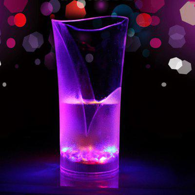 Lover Induces Flash  Flower Vase LED Light Cup For KTV  Beer Mug