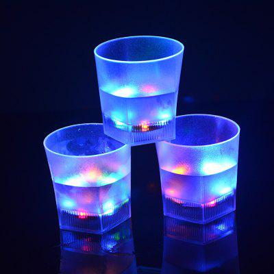 7 Color Flash  LED Light Beer Glass  Creative Water Sensor Grinding Drink CupNovelty lighting<br>7 Color Flash  LED Light Beer Glass  Creative Water Sensor Grinding Drink Cup<br><br>Available Light Color: RGB<br>Material: PS<br>Package Contents: 1 x Cup<br>Package size (L x W x H): 8.50 x 8.50 x 8.50 cm / 3.35 x 3.35 x 3.35 inches<br>Package weight: 0.0750 kg<br>Product size (L x W x H): 8.00 x 8.00 x 8.20 cm / 3.15 x 3.15 x 3.23 inches<br>Product weight: 0.0620 kg<br>Suitable for: Home, Exhibition, Home Decoration, Party, Holiday Decoration