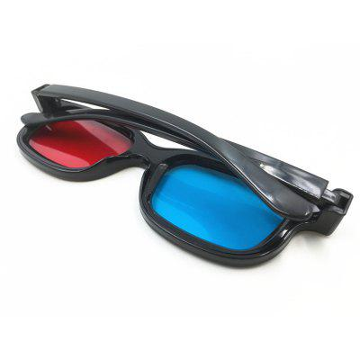 New Stereoscopic 3D Red and Blue Movie Glasses new