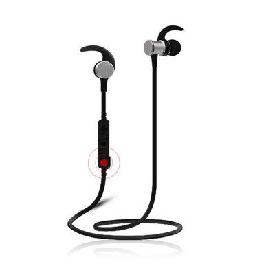 Wireless Bluetooth Headset Sport Running Earbud In-Ear Metal Bass