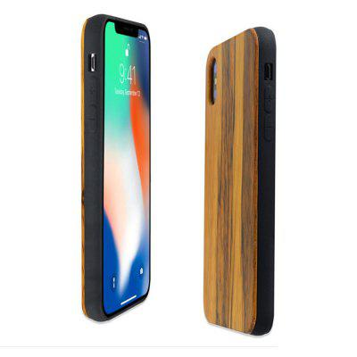TPU Stick Wooden Phone Shell iPhone X Pear ProtectioniPhone Cases/Covers<br>TPU Stick Wooden Phone Shell iPhone X Pear Protection<br><br>Features: FullBody Cases<br>Material: TPU, Wooden<br>Package Contents: 1 x Phone Case<br>Package size (L x W x H): 14.00 x 8.00 x 3.00 cm / 5.51 x 3.15 x 1.18 inches<br>Package weight: 0.0700 kg<br>Product weight: 0.0600 kg<br>Style: Vintage, Solid Color
