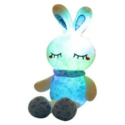 Glowing Long Legs Rabbit Plush Toy Inductive Luminous with LED Lights Doll for Kids