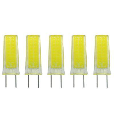 5PCS ZHENMING New Dimming G8 3W Cob0930 Ac110V Led Lamp Bulb
