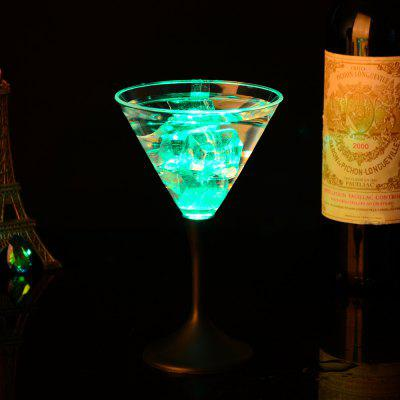 Luminescent Glass Button Control Cocktail  Goblet CupNovelty lighting<br>Luminescent Glass Button Control Cocktail  Goblet Cup<br><br>Available Light Color: Red,Blue,Green<br>Material: PP<br>Package Contents: 1 x Cup<br>Package size (L x W x H): 12.00 x 121.00 x 172.00 cm / 4.72 x 47.64 x 67.72 inches<br>Package weight: 0.1200 kg<br>Product size (L x W x H): 11.70 x 11.70 x 17.00 cm / 4.61 x 4.61 x 6.69 inches<br>Product weight: 0.0600 kg<br>Suitable for: Home, Exhibition, Home Decoration, Party, Holiday Decoration
