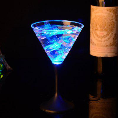 Luminescent Glass Button Control Cocktail  Goblet Cup