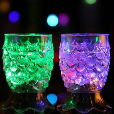 Creative Gifts High Footed Pineapple  Colorful Light Glass Sensory Water CupNovelty lighting<br>Creative Gifts High Footed Pineapple  Colorful Light Glass Sensory Water Cup<br><br>Available Light Color: RGB<br>Material: PP<br>Package Contents: 1 x Cup<br>Package size (L x W x H): 7.20 x 8.50 x 12.00 cm / 2.83 x 3.35 x 4.72 inches<br>Package weight: 0.1300 kg<br>Product size (L x W x H): 7.00 x 7.00 x 11.00 cm / 2.76 x 2.76 x 4.33 inches<br>Product weight: 0.1180 kg<br>Suitable for: Home, Exhibition, Home Decoration, Party, Holiday Decoration