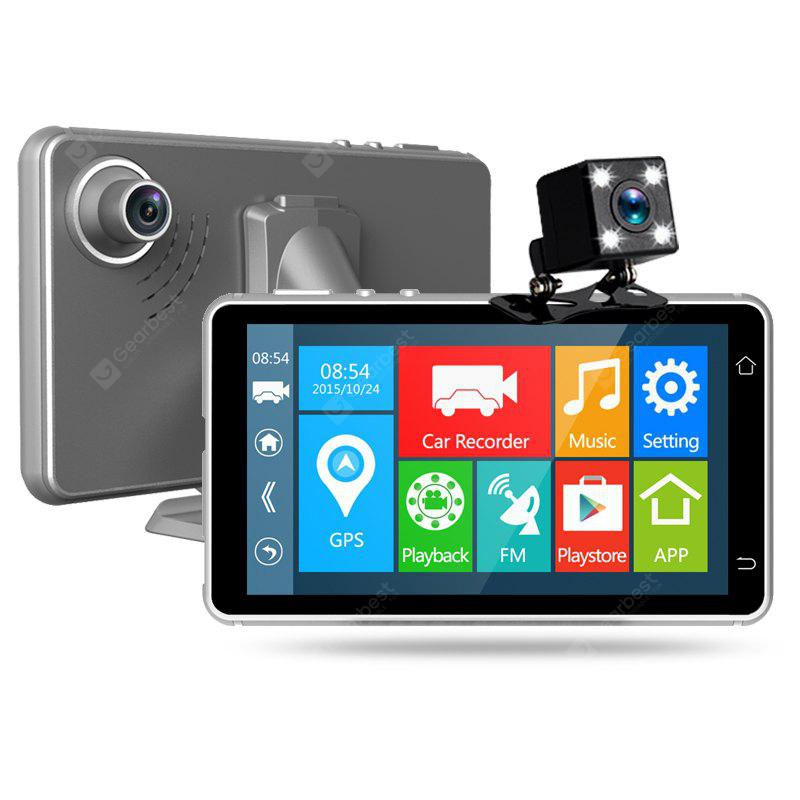 DVRA4 5 Inch Android 4.4 Car DVR Cam FHD 1080P Wifi Wireless  Nice Night Vision