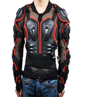 SALETU Motorcycle Riding Body Protection Armor Spine Chest Protective Jacket