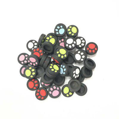 Silicone Cats Paw Pattern Handle Cap Left and Right Rocker Protection Cap for Switch NX NS 8pcs/packGame Accessories<br>Silicone Cats Paw Pattern Handle Cap Left and Right Rocker Protection Cap for Switch NX NS 8pcs/pack<br><br>Color: White,Red,Blue,Green<br>Game Accessories Type: Thumbstick Cover<br>Material: Silicone<br>Package Contents: 8 x Protection Cap<br>Package size: 10.00 x 5.00 x 2.00 cm / 3.94 x 1.97 x 0.79 inches<br>Package weight: 0.1000 kg<br>Product size: 1.50 x 0.30 x 0.30 cm / 0.59 x 0.12 x 0.12 inches<br>Product weight: 0.0320 kg