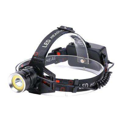 U'King ZQ - X855 XML - T6 2000LM 4 Mode Light-weight Multifunction High Brightness Headlamp with Circle COB LED