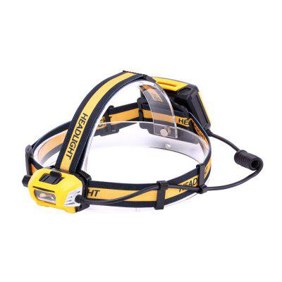 U'King ZQ-X854 1200LM XM-L2 Rotate Switch Headlamp Bike Light Waterproof for Fishing Hunting Outdoor
