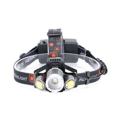 UKing ZQ-X856 XML-T6 2000LM 4 Mode Multifunction Zoomable High Brightness LED Headlamp with 2 Red White COB LEDsHeadlights<br>UKing ZQ-X856 XML-T6 2000LM 4 Mode Multifunction Zoomable High Brightness LED Headlamp with 2 Red White COB LEDs<br><br>Adjustable Focus: Yes<br>Available Light Color: White + Red<br>Battery Included or Not: No<br>Battery Quantity: 2<br>Battery Type: 18650<br>Beam Distance: 100-200m<br>Body Material: ABS, Aluminium Alloy<br>Color: Black<br>Color Temperature: 6000-6500K<br>Emitters Quantity: 3<br>Feature: Headlamp, Lightweight, Rechargeable<br>Function: Hiking, Camping, Fishing<br>Headlight Brand: UKing<br>Luminous Flux: 2000LM<br>Main Emitters: XM-L T6,COB<br>Mode: 2x side red on,  all white on, T6 on,  2x side white on<br>Mode Memory: No<br>Package Contents: 1 x Headlamp, 1 x Micro USB Charge Cable, 1 x English Manual<br>Package size (L x W x H): 12.00 x 11.60 x 10.00 cm / 4.72 x 4.57 x 3.94 inches<br>Package weight: 0.2300 kg<br>Power Source: Battery<br>Product size (L x W x H): 27.00 x 18.00 x 11.00 cm / 10.63 x 7.09 x 4.33 inches<br>Product weight: 0.2001 kg<br>Rechargeable: Yes<br>Switch Location: Head<br>Switch Type: Clicky<br>Type: LED Headlamp