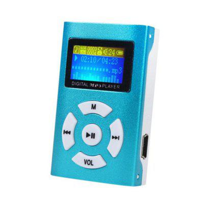 Start Sport Relax USB Mini MP3 Player Suporte de tela LCD 32GB Micro SD TF Card