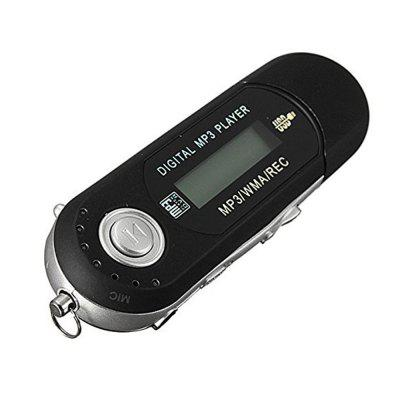 USB 2.0 Flash Drive LCD Mini MP3 Music Player w / FM Rádio Gravador de Voz
