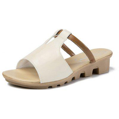 Women Summer Non-slip Slippers Casual PU SandalsWomens Sandals<br>Women Summer Non-slip Slippers Casual PU Sandals<br><br>Available Size: 35 - 40<br>Gender: For Women<br>Heel Type: Low Heel<br>Outsole Material: Rubber<br>Package Contents: 1 x Slippers (pair)<br>Pattern Type: Solid<br>Season: Summer<br>Slipper Type: Outdoor<br>Style: Leisure<br>Upper Material: PU<br>Weight: 0.8840kg