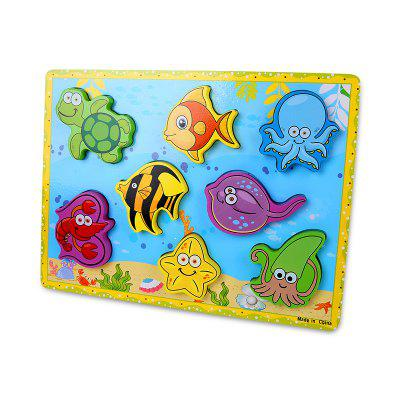 Marine Animal Woodiness Jigsaw Puzzle