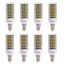 BRELONG E14 SMD5733 6W 9W 12W 15W 18W Corn Light AC220-240V 8PCS
