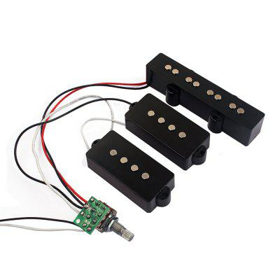 3 band eq preamp circuit bass guitar wiring harness and jb pickup rh gearbest com Custom Guitar Wiring Harness Telelcaster Wiring Harness