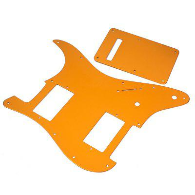 Guitar Pickguard Stratocaster Strat HH 2 Humbucker Set musiclily 4ply sss pickguard for fender standard stratocaster strat st guitar