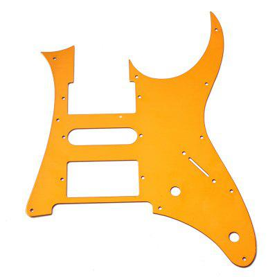 Gold Yellow Guitar Pickguard HSH for Stratocaster Strat