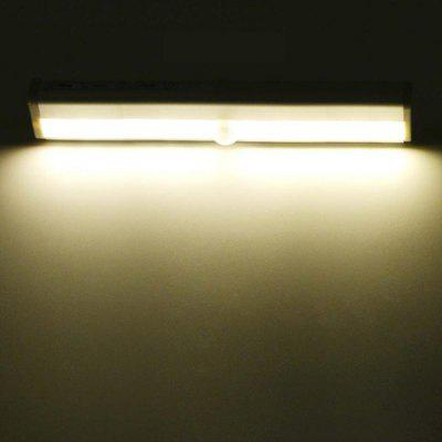 Wireless Motion Sensor Wardrobe Light 10LEDS Induction Nightlight Bar Home Decoration Lamp Battery Operated