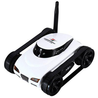 Happycow RC Tank 777 - 270 WiFi Tank Car Toy with Camera Remote Control Video iOS Phone or Android Gift- 12 X 9.7 X 5.8 WHITE