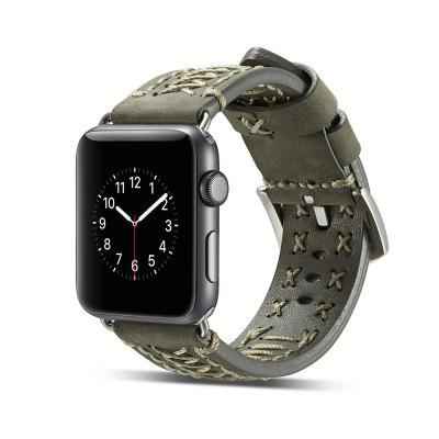 O Smart Watch Strap 38MM Leather é adequado para Watch Series 3/2 / 1 com The Apple Watch 3
