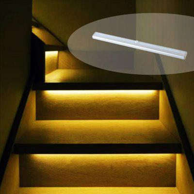 Great Portable Rechargeable Wireless Infrared Sensor LED Staircase Lights