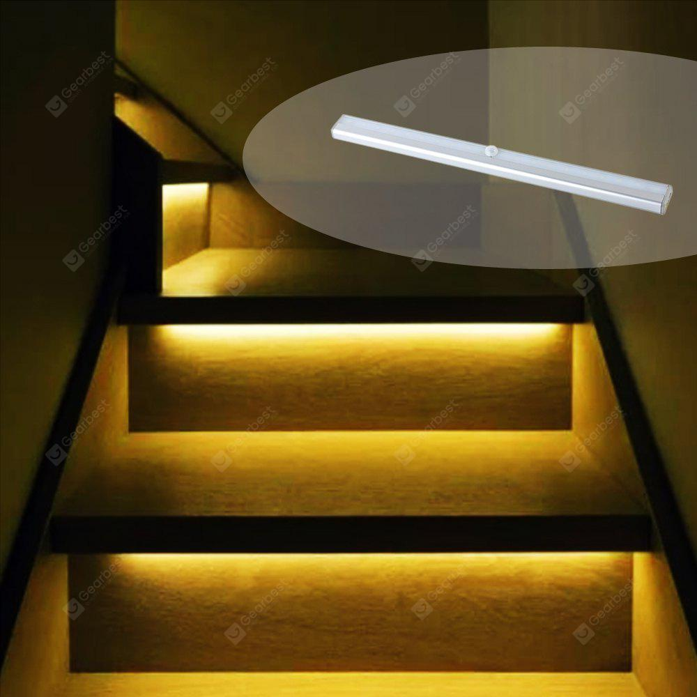 Perfect Portable Rechargeable Wireless Infrared Sensor LED Staircase Lights