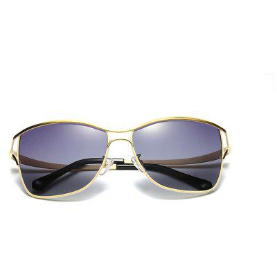 Cat Eye Metal Frame Polarized Sunglasses for WomenMens Sunglasses<br>Cat Eye Metal Frame Polarized Sunglasses for Women<br><br>Frame material: Other<br>Gender: For Women<br>Group: Adult<br>Lens material: Resin<br>Package Contents: 1 x glasses<br>Package size (L x W x H): 17.00 x 15.00 x 9.00 cm / 6.69 x 5.91 x 3.54 inches<br>Package weight: 0.1200 kg<br>Product size (L x W x H): 15.00 x 13.80 x 5.20 cm / 5.91 x 5.43 x 2.05 inches<br>Style: Oval