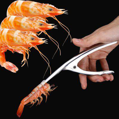 Shrimp Peeler Prawn Devein Peel Device Creative Kitchen Tool Stainless SteelMeat &amp; Poultry Tools<br>Shrimp Peeler Prawn Devein Peel Device Creative Kitchen Tool Stainless Steel<br><br>Material: Stainless Steel<br>Package Contents: 1 x Shrimp Peeler<br>Package size (L x W x H): 22.00 x 8.00 x 8.00 cm / 8.66 x 3.15 x 3.15 inches<br>Package weight: 0.0500 kg<br>Type: Cookware