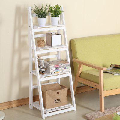 Four Storey Solid Wood  Foldable Plant Stand Flower Ladder RackStorage Holders &amp; Racks<br>Four Storey Solid Wood  Foldable Plant Stand Flower Ladder Rack<br><br>Functions: Living Room, Bedroom, Dining Room<br>Materials: Wood<br>Package Contents: 1 x Shelf, 1 x Set of Accessories<br>Package Size(L x W x H): 123.00 x 46.00 x 11.00 cm / 48.43 x 18.11 x 4.33 inches<br>Package weight: 4.8000 kg<br>Product Size(L x W x H): 42.00 x 34.00 x 112.00 cm / 16.54 x 13.39 x 44.09 inches<br>Product weight: 3.6000 kg<br>Types: Storage Holders and Racks
