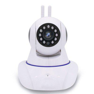 Good Quality 720P Indoor WiFi IP Camera Two Way Audio CCTV CameraIP Cameras<br>Good Quality 720P Indoor WiFi IP Camera Two Way Audio CCTV Camera<br><br>APP Language: English<br>Compatible Operation Systems: Android,IOS<br>FOV: 360 Degree<br>IP camera performance: Interphone, Remote Control, Motion Detection, Night Vision<br>Language: English<br>Maximum Monitoring Range: 30 meters<br>Motion Detection Distance: 10 meters<br>Operate Temperature (?): -10  to  +50<br>Package Contents: 1 x IP Camera, 1 x Power adaptor, 1 x English manual, 1 x Bracket with screw<br>Package size (L x W x H): 10.00 x 10.00 x 13.00 cm / 3.94 x 3.94 x 5.12 inches<br>Package weight: 0.5300 kg<br>Shape: Spherical Camera<br>Technical Feature: Pan Tilt Zoom, Infrared, WiFi<br>Video Resolution: 720P<br>Waterproof: IP65<br>WiFi Distance: 30 meters<br>Working Voltage: 5V