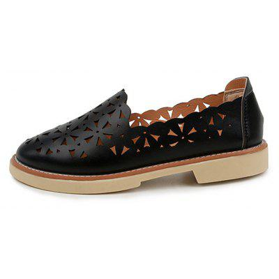 Women Casual Flat Shoes with Hollow Breathable Sandals for StudentsWomens Flats<br>Women Casual Flat Shoes with Hollow Breathable Sandals for Students<br><br>Available Size: 35-40<br>Closure Type: Slip-On<br>Embellishment: Hollow Out<br>Gender: For Women<br>Occasion: Casual<br>Outsole Material: TPR<br>Package Contents: 1 x Shoes (pair)<br>Pattern Type: Solid<br>Season: Summer<br>Toe Shape: Round Toe<br>Toe Style: Closed Toe<br>Upper Material: PU<br>Weight: 1.0000kg