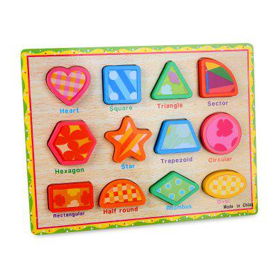 Polygon Woodiness Jigsaw Puzzle