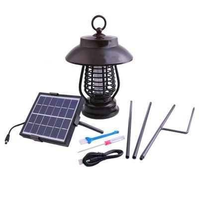 Pest Bug Light Solar Mosquito Killer LED For Outdoors Yard Mosquito LampOutdoor Lanterns<br>Pest Bug Light Solar Mosquito Killer LED For Outdoors Yard Mosquito Lamp<br><br>Battery Capacity: 5000mAH Lead Acid Battery<br>Best Use: Casual,Climbing,Fishing,Camping,Hiking,Travel,Emergency,Backpacking,Multisport<br>Features: Waterproof, Portable, Rechargeable, Battery Included, Low Energy Consumption<br>Functions: Low Power Consumption, Long life<br>Package Contents: 1 x Solar Anti-Mosquito Lamp<br>Package size (L x W x H): 25.00 x 25.00 x 35.00 cm / 9.84 x 9.84 x 13.78 inches<br>Package weight: 1.7950 kg<br>Power Source: Solar<br>Working Time: 72h<br>Working Voltage: 220V