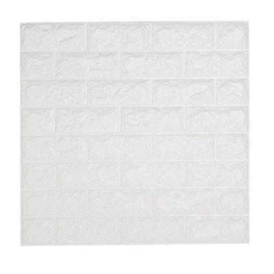 3D Brick Pattern Three-Dimensional Adhesive Simple Style Wall StickersWall Stickers<br>3D Brick Pattern Three-Dimensional Adhesive Simple Style Wall Stickers<br><br>Package Contents: 1 x Wall Sticker<br>Package size (L x W x H): 31.00 x 31.00 x 3.00 cm / 12.2 x 12.2 x 1.18 inches<br>Package weight: 0.1440 kg