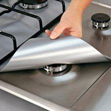 Reusable Burner Covers Protector Stove Surface Protection Cover For Kitchen Cleaning Tools
