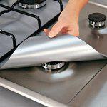 Gearbest Reusable Burner Covers Protector Stove Surface Protection Cover For Kitchen Cleaning Tools