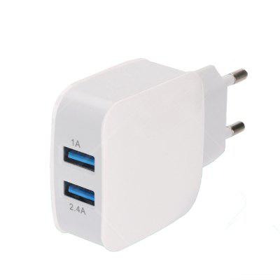 Dual USB Travel Quick Charger 2.4A Multi-Port para Apple Android Phone Universal
