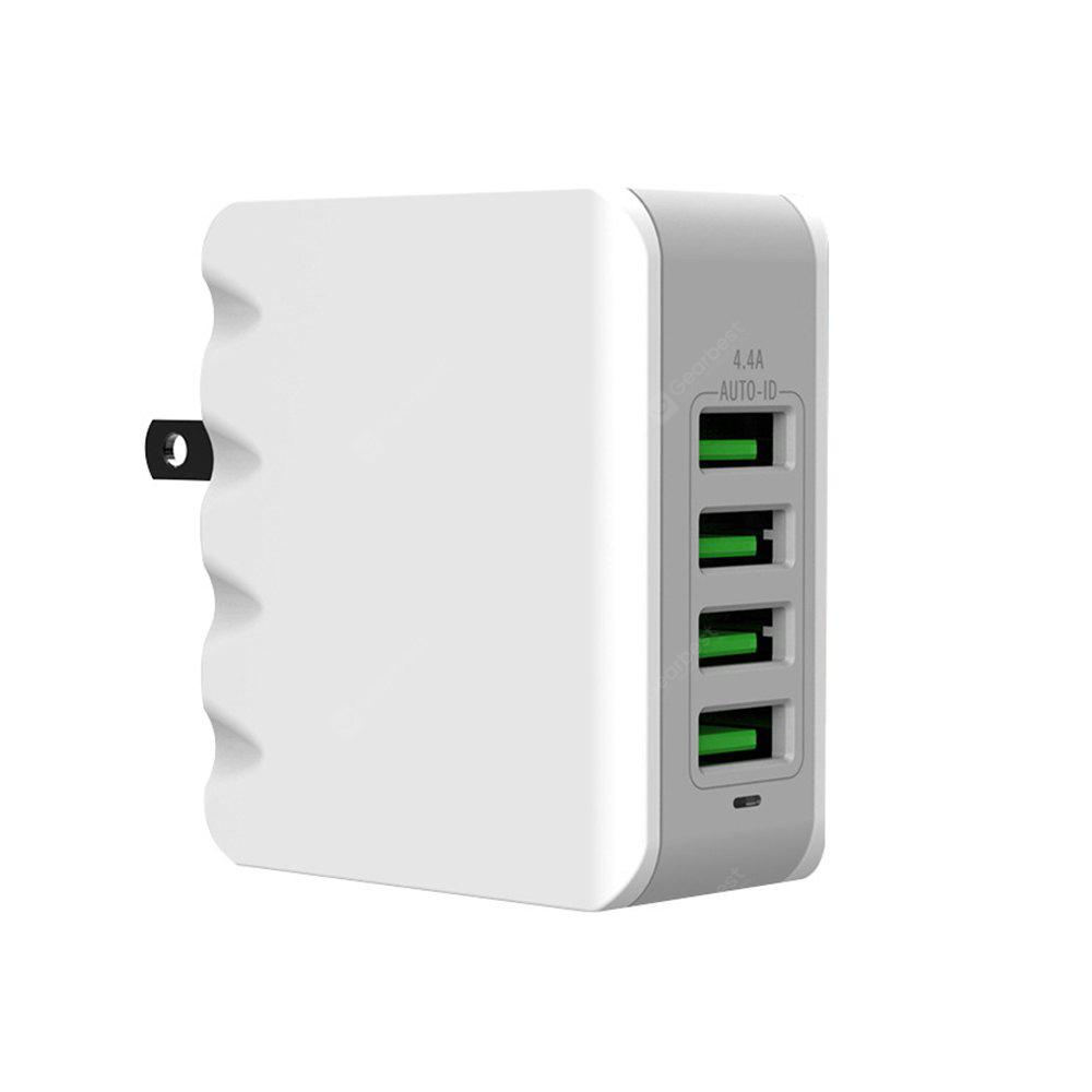 4 Usb 4.4A Multi-Port Mobile Phone Universal Charger