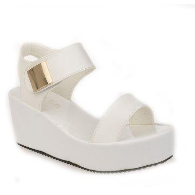 Ladies Summer Sandals Fashion Thick Bottom Shoes for Girls