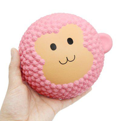 Jumbo Squishy Squeeze PU Monkey Cake Packaging Collection Gift Soft Toy