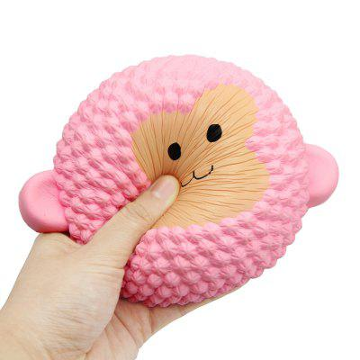 Jumbo Squishy Squeeze PU Monkey Cake Packaging Collection Gift Soft ToySquishy toys<br>Jumbo Squishy Squeeze PU Monkey Cake Packaging Collection Gift Soft Toy<br><br>Age Range: &gt;7 Years old<br>Color: Pink<br>Materials: PU<br>Package Content: 1 x Squishies Toy<br>Package Dimension: 17.00 x 13.00 x 7.00 cm / 6.69 x 5.12 x 2.76 inches<br>Pattern Type: Cake<br>Product Dimension: 16.00 x 12.00 x 6.00 cm / 6.3 x 4.72 x 2.36 inches<br>Products Type: Decompression Toys<br>Theme: Funny