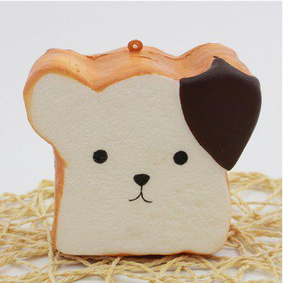 Jumbo Squishy Squeeze PU Toast Dog Packaging Collection Gift Soft Toy ariete toast