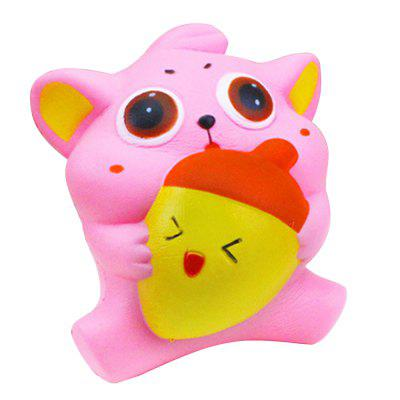 Jumbo Squishy Squeeze PU Cat and Fish Packaging Collection Gift Soft Toy