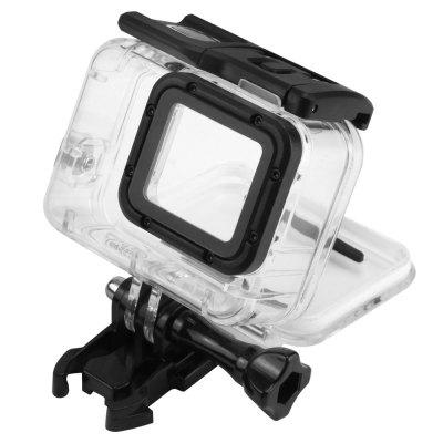 40M Diving Waterproof Case for GoPro Hero 6/5 Black Action Camera camera frame soft silicone case cover protective frame for gopro hero 5 action camera accessories purple