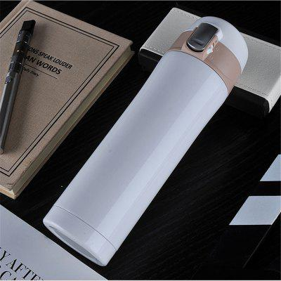 450ML Transhome Fashion Travel Bottle Vaso de Vacío de Agua Thermos Vaso de Acero Inoxidable Thermocup